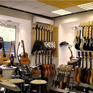 Музыкальные магазины Губкина
